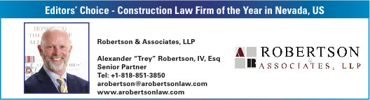 Construction Law Firm Award